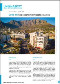 Covid-19: Socioeconomic Impacts on Africa - Cover