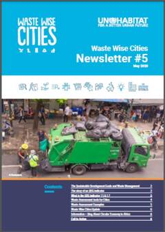 Waste Wise Cities - Newsletter 5 - Cover