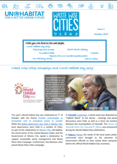 Waste Wise Cities - Newsletter 2 - Cover image
