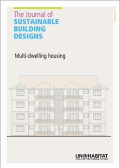 The Journal of Sustainable Building Design. Issue 3: Multi-dwelling Housing-cover