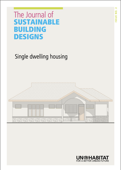 The Journal of Sustainable Building Design. Issue 2: Single Dwelling Housing-cover