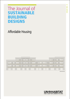The Journal of Sustainable Building Design. Issue 4: Affordable Housing-cover
