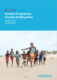 Somalia Programme Country Briefing Note 2020 - cover