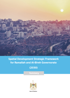 Spatial Development Strategic Framework: Ramallah and Al-Bireh Governorate (2030) - cover