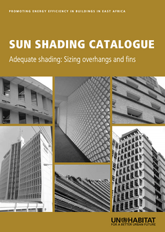 Sun Shading Catalogue. Adequate Shading: Sizing Overhangs and Fins-cover