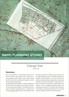 Rapid Planning Studio – Concept Note - cover