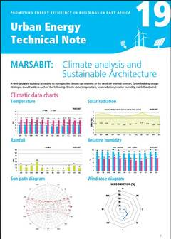 Urban Energy Technical Note 19: MARSABIT: Climate analysis and Sustainable Architecture - cover