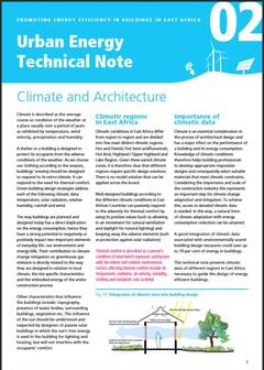 Urban Energy Technical Note 02: Climate and Architecture - cover