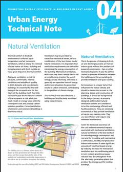 Urban Energy Technical Note 04: Natural Ventilation - cover