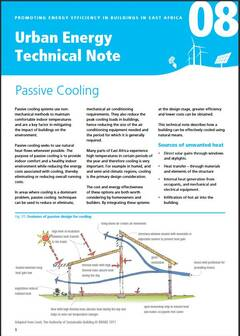 Urban Energy Technical Note 08: Passive Cooling - cover
