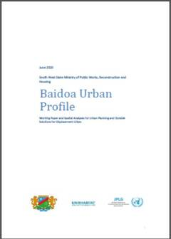 Baidoa Urban Profile 2020 - cover