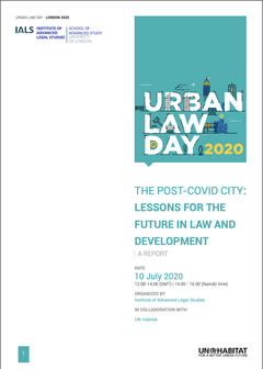Urban Law Day 2020 Report - cover