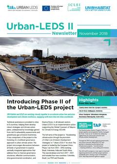 Urban-LEDS II Newsletter #1