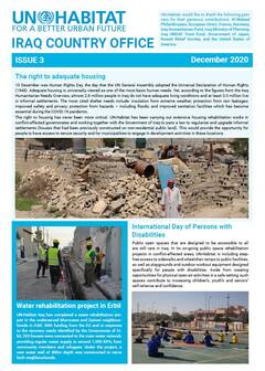 UN-Habitat Iraq Newsletter – December 2020