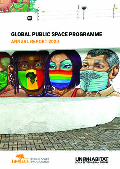 THE GLOBAL PUBLIC SPACE PROGRAMME: ANNUAL REPORT 2020