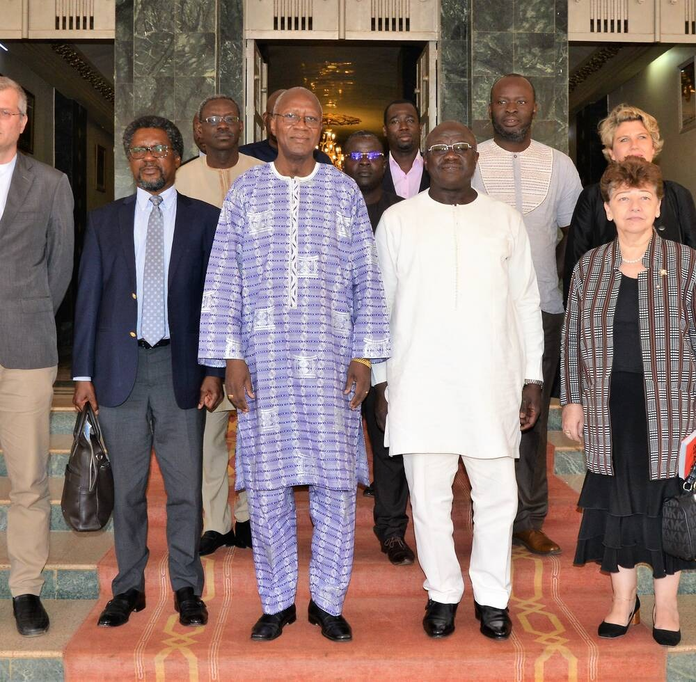 Visit of the Delegation of UN-Habitat to Burkina Faso, 2019, UN-Habitat