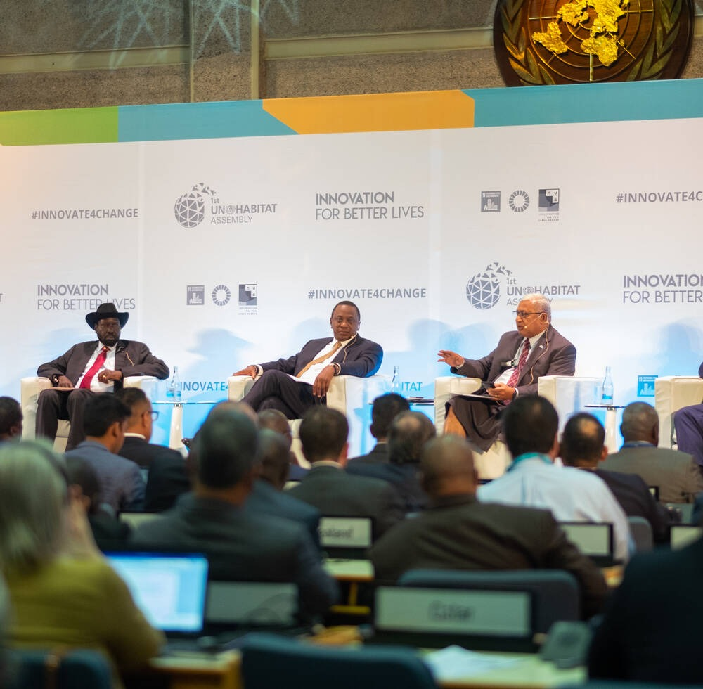 High level Dialogue on Innovation with Heads Of State, UN-Habitat Assembly