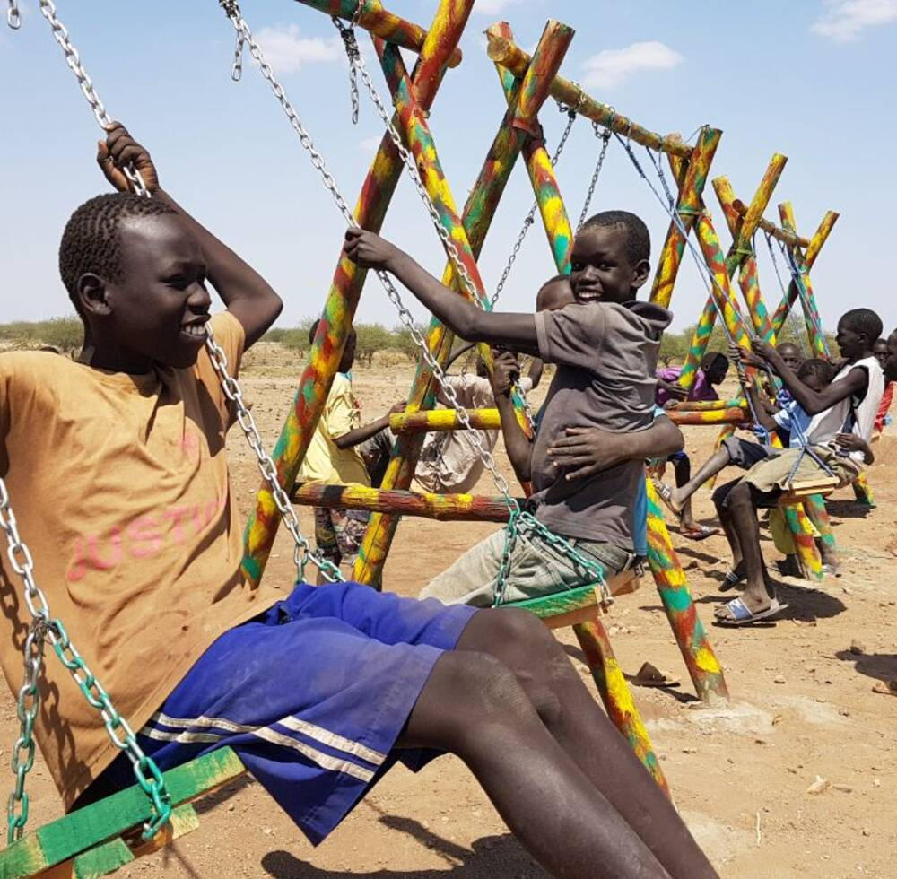 Kalobeyei Swings - Integrating refugees and host communities