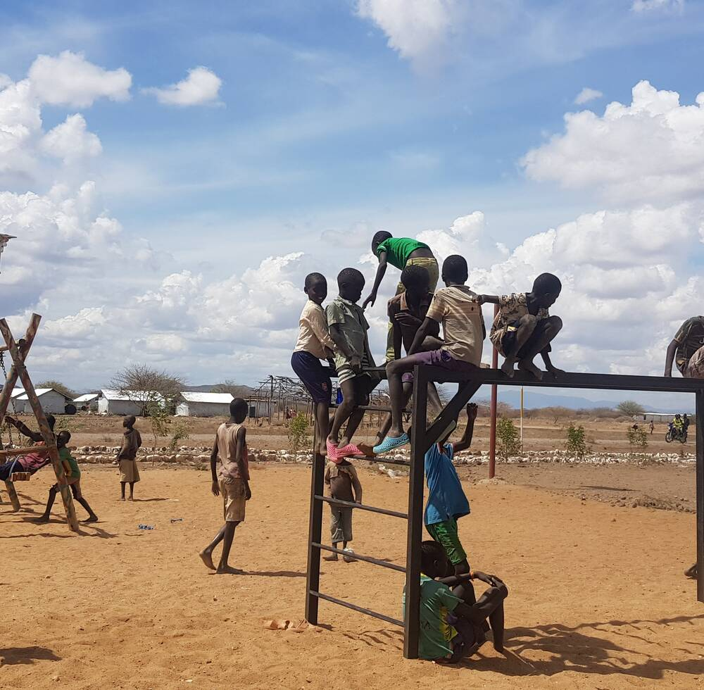 Kalobeyei playground design and construction.