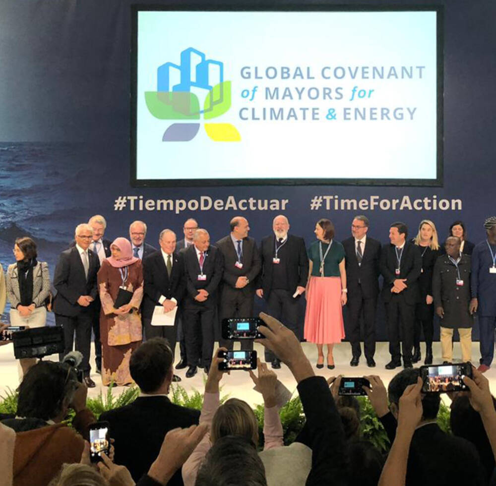 Global Covenant of Mayors for Climate and Energy event