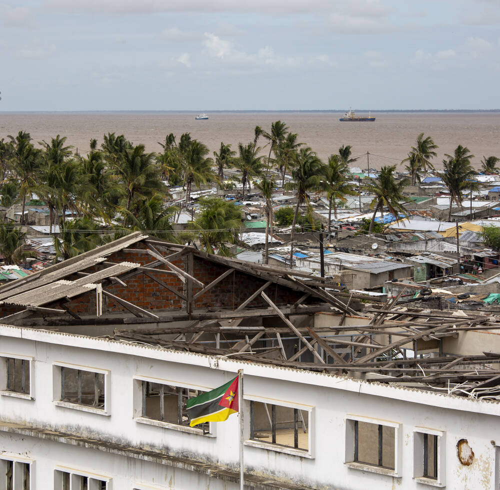 Supporting the Mozambican government for a resilient recovery and reconstruction of cities and communities