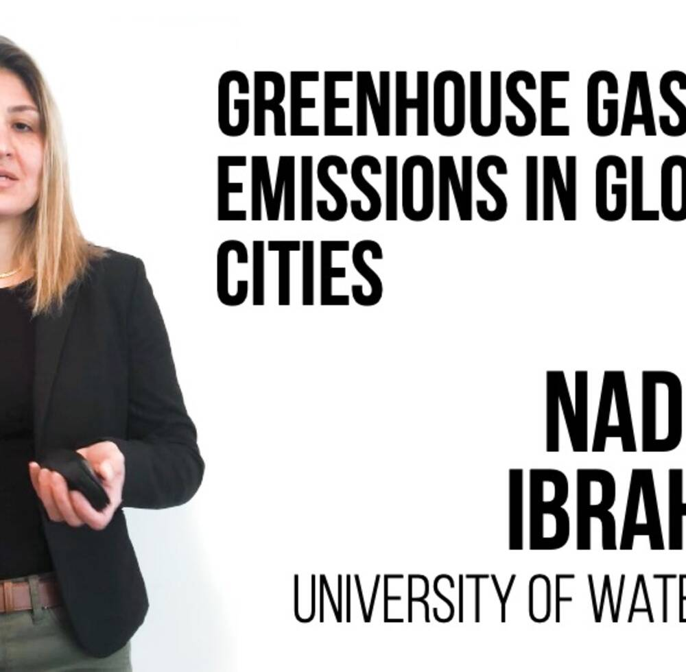 Greenhouse Gas Emissions in Global Cities - Nadine Ibrahim