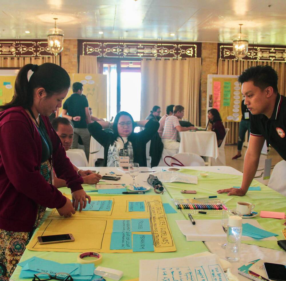Urban planning and design workshop in Ormoc City, one of the BCRUPD partner cities