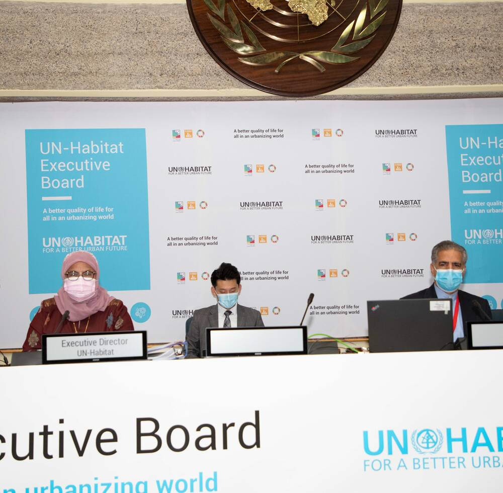First session of UN-Habitat Executive Board in 2021 takes place online