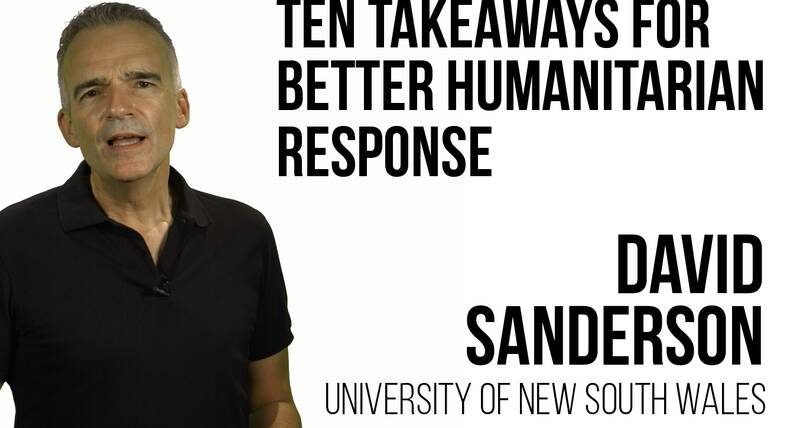 Second Global Urban Lecture 2020 - Ten Takeaways for Better Humanitarian Response