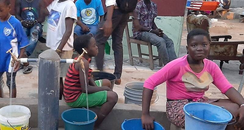 UN-Habitat provides water and handwashing facilities for tens of thousands in Ghana's informal settlements