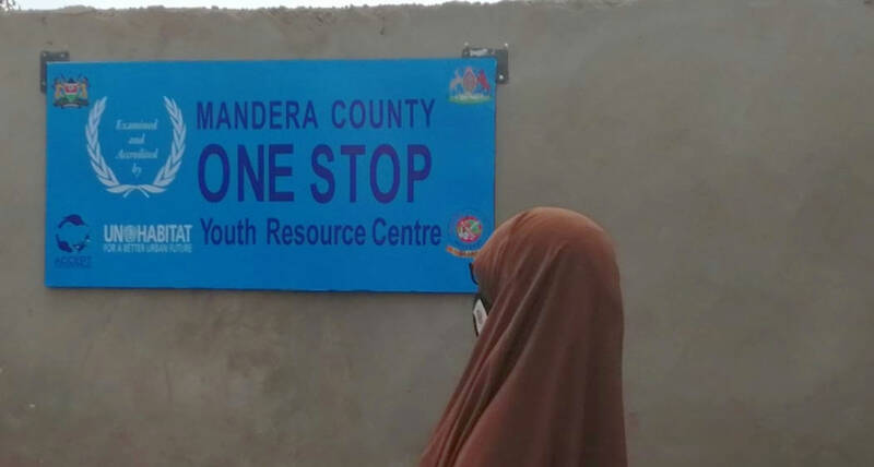 UN-Habitat, Canada and partners launch One Stop Youth Centre in northern Kenya to prevent COVID-19 spread