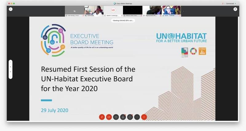 New Bureau members of UN-Habitat's Executive Board are elected
