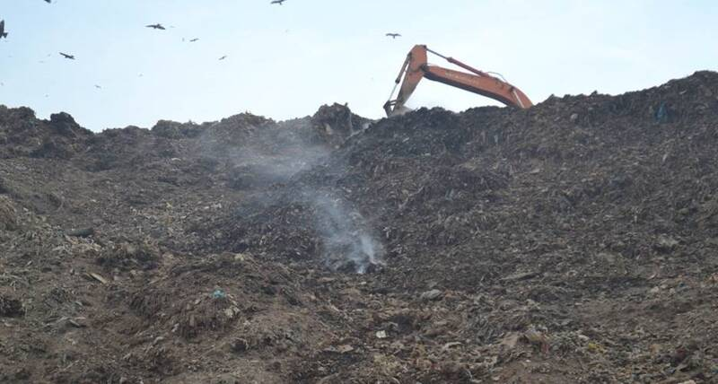 Since October 2019, biomining operations have been undertaken at the Gazipur landfill site in East Delhi to reduce its height from 60 meters to 40 meters and remediate 14 million tonnes of legacy mixed waste