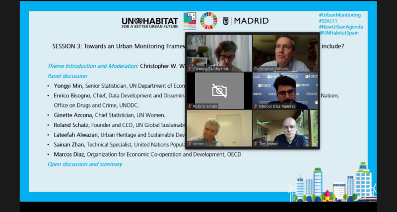 UN-Habitat leads the collaborative development of the United Nations system-wide Urban Monitoring Framework