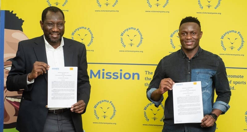 UN-Habitat and international footballer, Victor Wanyama's Foundation to support youth in informal settlements