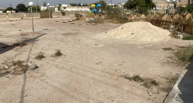 Ghor Al-Safi public space construction area