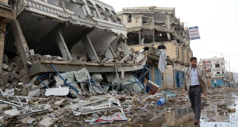 Qatar Fund For Development supports UN-Habitat to remove and reuse debris in Yemeni city
