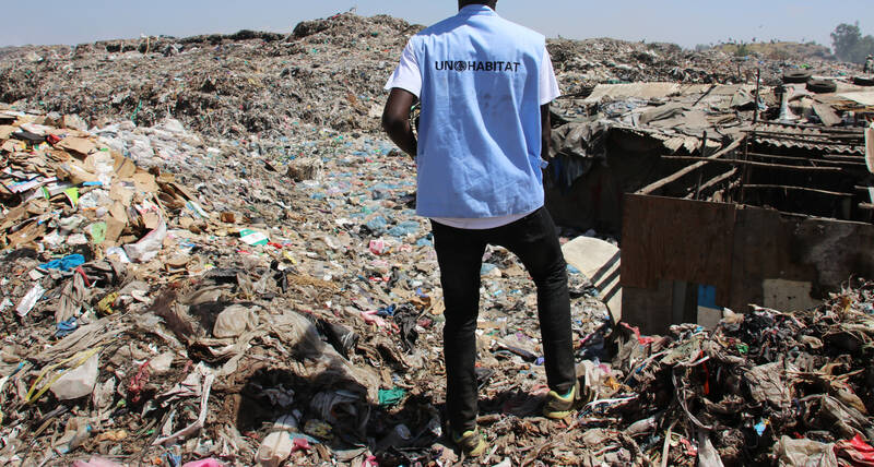 Climate change, circular economy, waste management