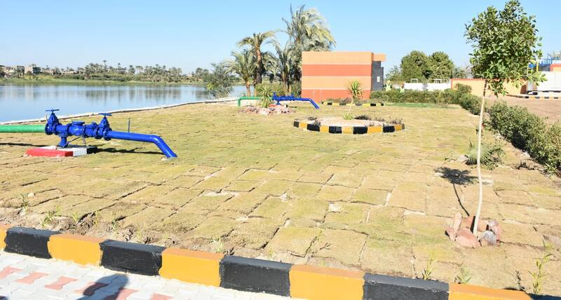 Government of Egypt, UN-Habitat and partners celebrate riverbank filtration project in three Governorates