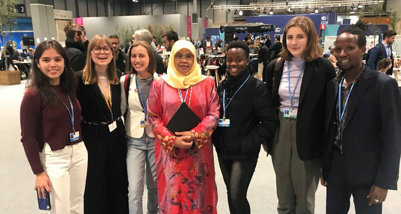 Youth discuss creative climate action in interactive meetings