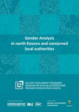 Gender Analysis in north Kosovo and concerned local authorities Cover-image