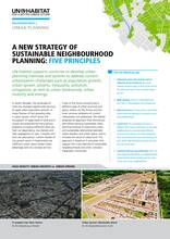 A New Strategy of Sustainable Neighbourhood Planning, Five principles - Cover image