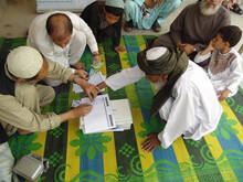 CCAP - Registration process for the CDC elections, District 10 Kandahar city