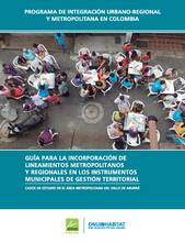 Guide for the incorporation of metropolitan and regional guidelines within the territorial management instruments - Cover image