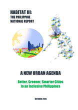 Habitat III: The Philippine National Report - Cover image