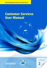 Utilities Management Series for small towns - Customer Services User manual Volume 2 - Cover image