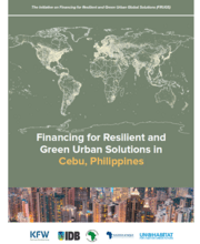 Financing for Resilient and Green Urban Solutions in Cebu, Philippines - Cover