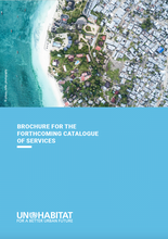 Brochure for the forthcoming Catalogue of Services - cover