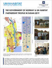 The Government of Norway & UN-Habitat Partnership Profile in Sudan 2019 - cover
