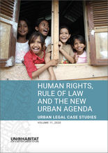 Human Rights, Rule of Law and the New Urban Agenda - cover
